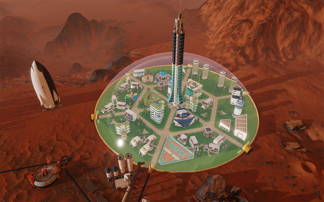 Surviving-Mars-under-the-dome